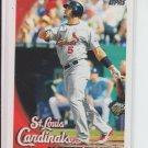 2010 Topps Series 1 #100 Albert Pujols Cardinals
