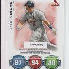 2010 Topps Attax Code Card #66 Albert Pujols Cardinals Expired!