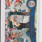 2011 Topps Series 1 LL #318 Albert Pujols/Adam Dunn/Joey Votto