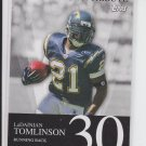 2007 Topps LT Touchdown Tribute #LT30 Ladainian Tomlinson Chargers