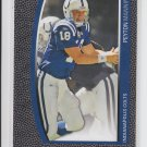 2009 Topps Unique #54 Peyton Manning Colts Broncos Sharp!