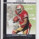 2009 Topps Unique Unis #UU3 Frank Gore 49ers