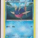 Pokemon Black & White Plasma Storm #32/135 Carvanha