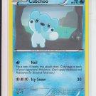 Pokemon Black & White Plasma Storm Common #40/135 Cubchoo