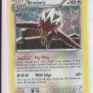 Pokemon Black & White Plasma Storm Rare #116/135 Braviary