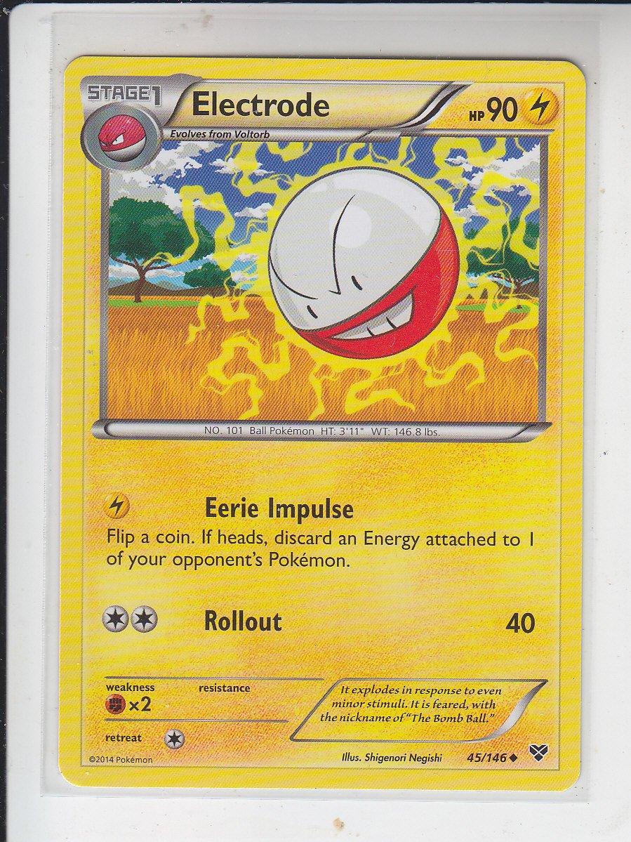 Electrode Uncommon Pokemon Black & White XY #45/149