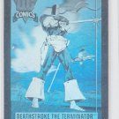 Deathstroke the Terminator Hologram Hall of Fame 1991 Impel #DCH3 QTY *ROB