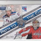 Derek Stepfan & Braden Holtby Path to the Cup 2012-13 Certified #15 051/299
