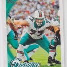 Jake Long Football Trading Card 2010 Topps #384 Dolphins Rams QTY