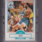 J.R. Reid Rookie Card Lot of (10) 1990-91 Fleer #20 Hornets