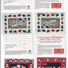 101 Dalmation Magnet Set of (4) + 1 Extra 1996 Skybox w redemption cards    *ED