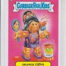 Orange Gina 2013 Topps Garbage Pail Kids Series 2 Trading Card #78b