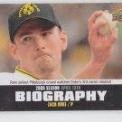 Zach Duke Season Biography Insert 2010 Upper Deck #SB-10 Pirates