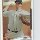 Matt Cain Refractors Parallel 2014 Topps Chrome #7 Giants