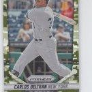 Carlos Beltran Camo Refractors 2014 Panini Prizm #81 Yankees