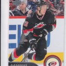Alexander Semin Hockey Trading Card 2014-15 Upper Deck Series 1 #33 Hurricanes