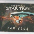 Fan Club Entry Card 1996 Skybox Star Trek Voyager Expired  *ED