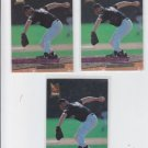 Steve Reed Rookie Card Lot of (3) 1993 Fleer Ultra #356 Rockies