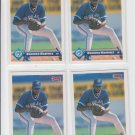 Domingo Martinez RC Rated Rookie Card Lot of (4) 1993 Donruss #363 Blue Jays