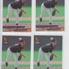 Ryan Hawblitzel Rookie Card Lot of (4) 1993 Fleer Ultra #349 Rockies