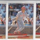 Jeff Branson Rookie Card Lot of (4) 1993 Fleer Ultra #27 Reds