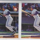 Derek Bell Rookie Card Lot of (2) 1993 Fleer Ultra #286 Blue Jays