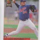 Tavo Alvarez Rookie Card 1993 Fleer Ultra #410 Expos
