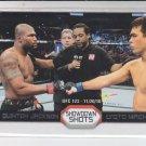 Lyoto Machida & Quinton Jackson Showdown Shots 2011 Topps UFC Moment of Truth