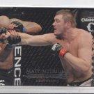 Matt Mitrione Gold Parallel 2011 Topps UFC Title Shot #106 147/188