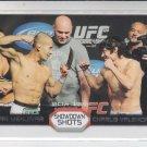 Ivan Menjivar & Charlie Valencia Showdown Shots 2011 Topps UFC Moment of Truth