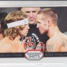 Urijah Faber & Eddie Wineland Showdown Shots 2011 Topps UFC Moment of Truth #FW