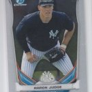 Aaron Judge Prospect Card 2014 Bowman Chrome Draft #CTP39 Yankees