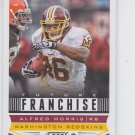 Alfred Morris Future Franchise Football Trading Card 2013 Score #330 Redskins