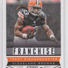 Trent Richardson Franchise Football Trading Card 2013 Score #274 Browns
