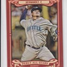 Felix Hernandez Debut All-Stars Insert 2014 Topps Gypsy Queen #AS-FH Mariners