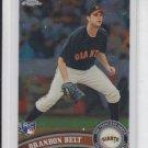 Brandon Belt Rookie Card 2011 Topps Chrome #172 Giants