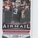 Carson Palmer AirMail Football Trading Card 2013 Score #243 Cardinals