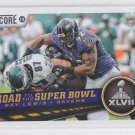 Ray Lewis Road to Super Bowl XLVII  2013 Score #261 Ravens