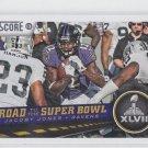 Jacoby Jones Road to Super Bowl XLVII  2013 Score #256 Ravens