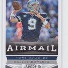 Tony Romo AirMail Football Trading Card 2013 Score #229 Cowboys