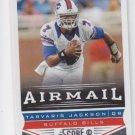Tarvaris Jackson AirMail Football Trading Card 2013 Score #224 Bills