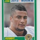 Kenny Vaccaro Rookie Card 2013 Score #387 Saints