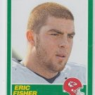 Eric Fisher Rookie Card 2013 Score #349 Chiefs