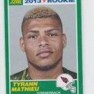 Tyrann Mathieu Rookie Card 2013 Score #396 Cardinals