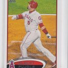 Albert Pujols Baseball Trading Card 2012 Topps #331 Angels QTY