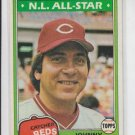 Johnny Bench NL All-Star Card 1981 Topps #600 Reds HOF EXMNT
