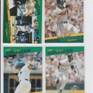 Frank Thomas Stat Leaders Lot of (4) No Dupes 1993 Score Select White Sox HOF