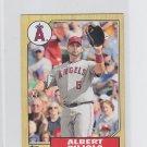 Albert Pujols 1987 Topps Mini Insert 2012 Topps TM-51 Angels