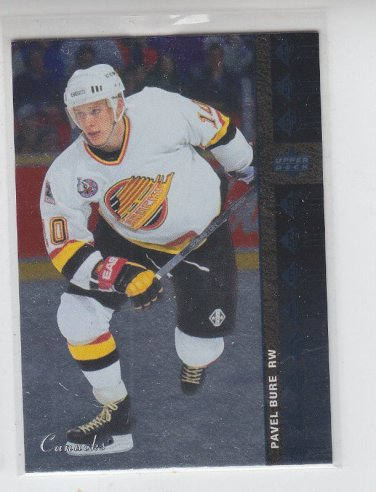 Pavel Bure 93-94 Retro SP 2012-13 SP Authentic #SP4 Canucks