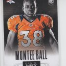 Monte Ball HRX Insert 2013 Panini Prizm #3 Broncos Exclusive Video Code